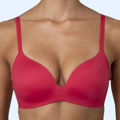 Royal Lounge Junky Delite scarlet red wireless bra